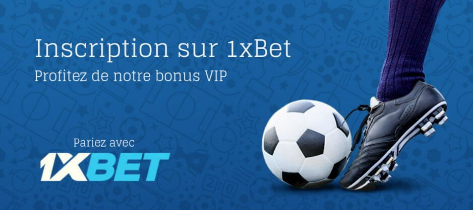 1xBet Inscription en France