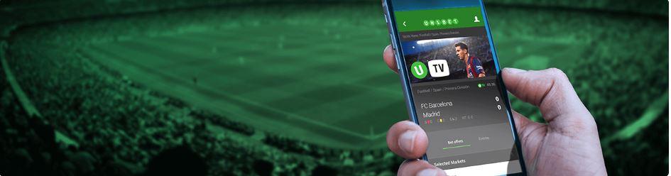 Unibet Mobile application