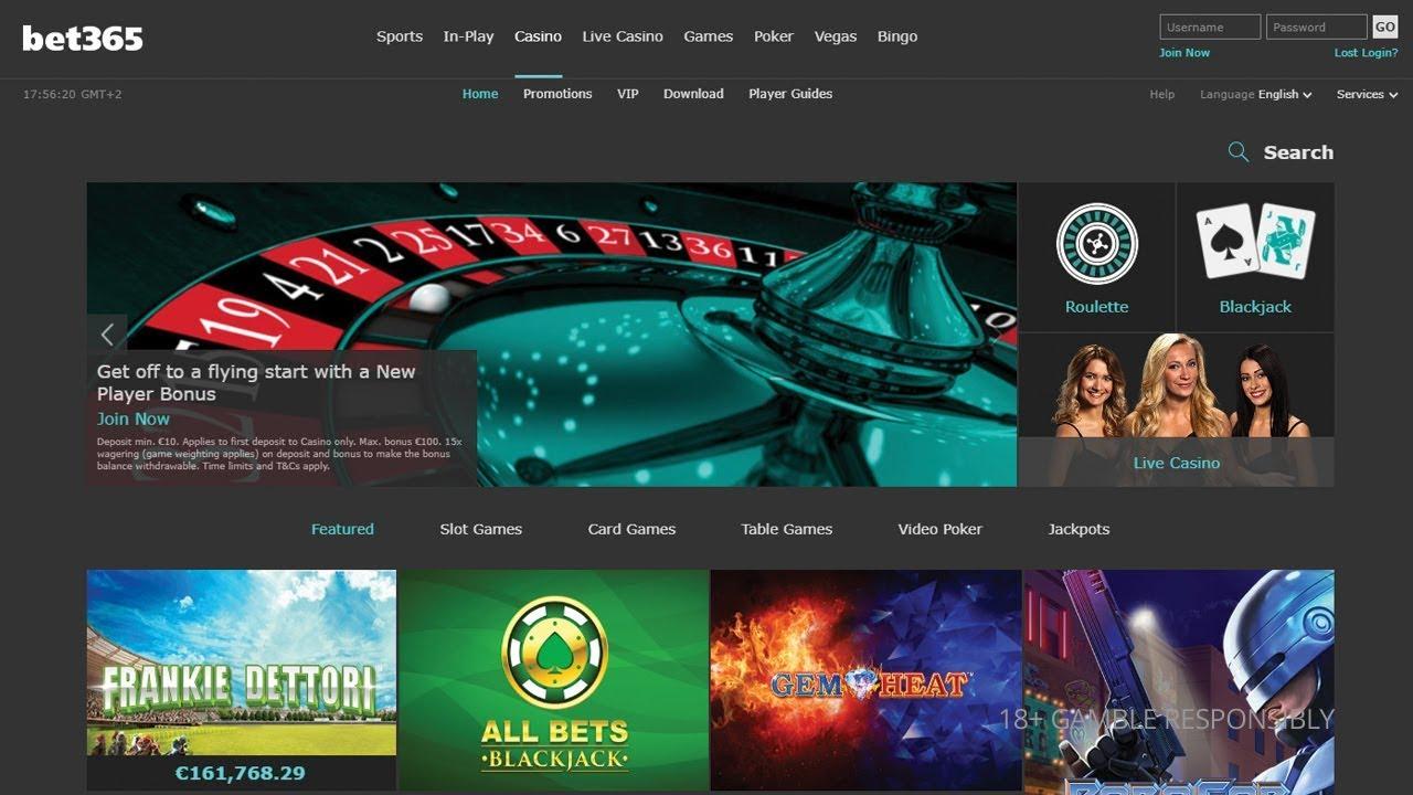Bet365 Bonus casino