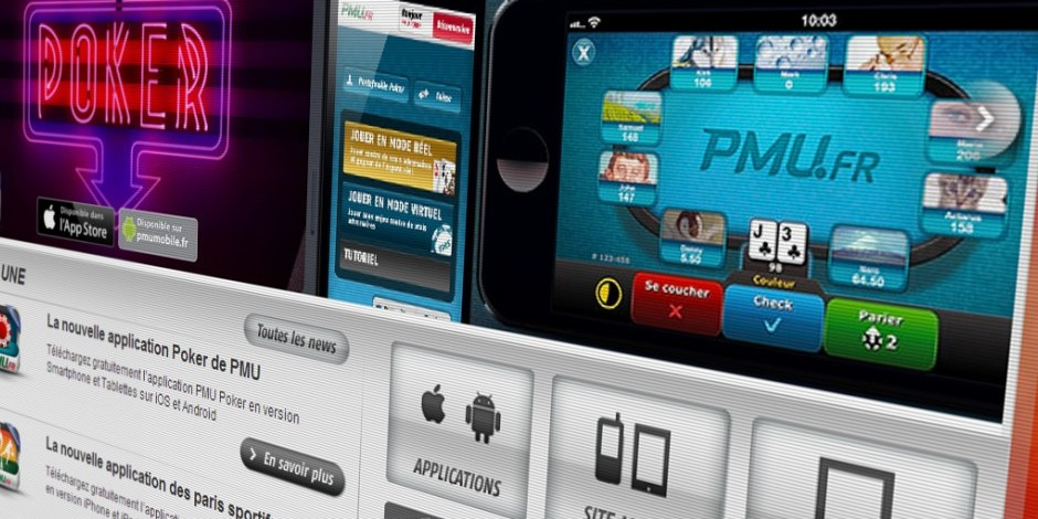 Applications mobile s PMU