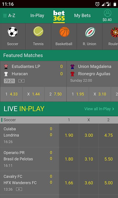 version mobile bet365