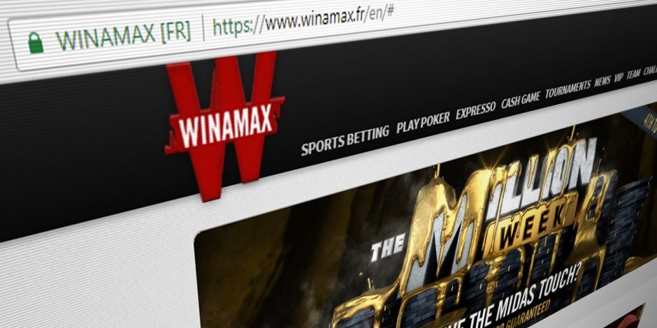 Winamax Inscription