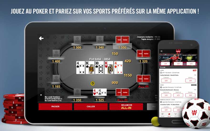 Winamax Sports App